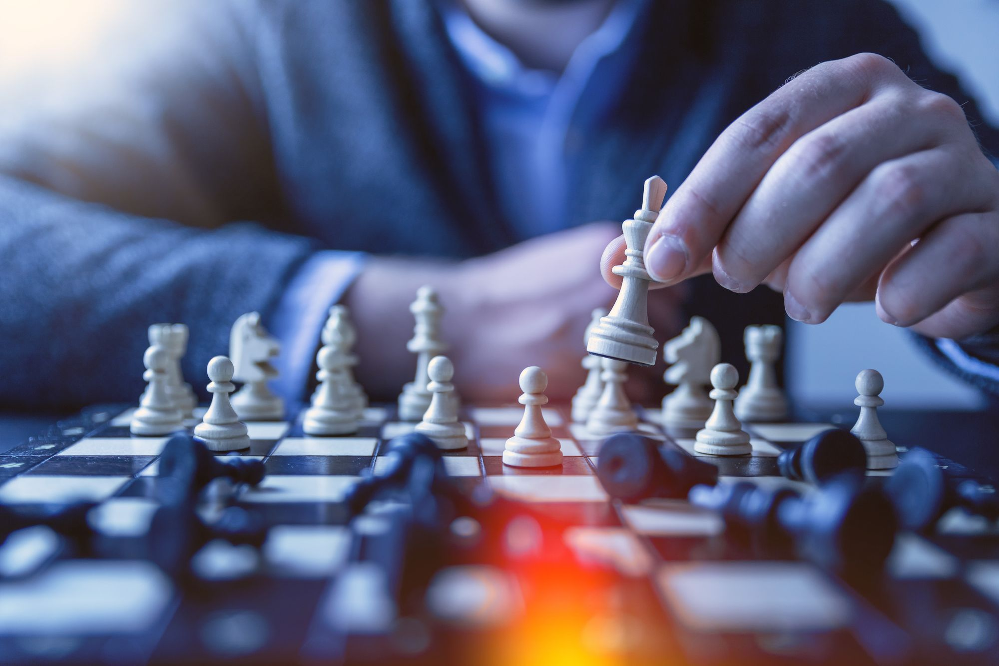 Building a product is not the same as playing a chess