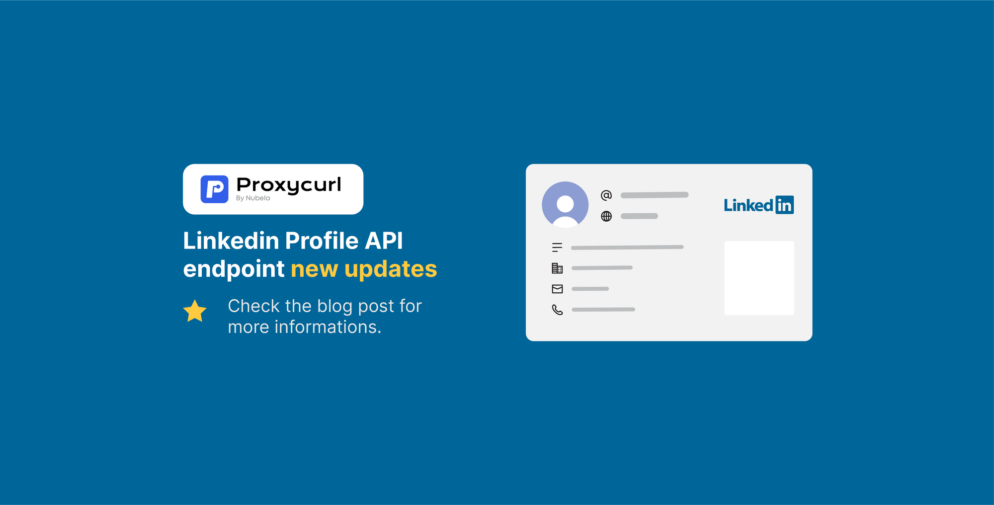 We added activity, articles, recommendations and MORE to our Linkedin Profile API endpoint