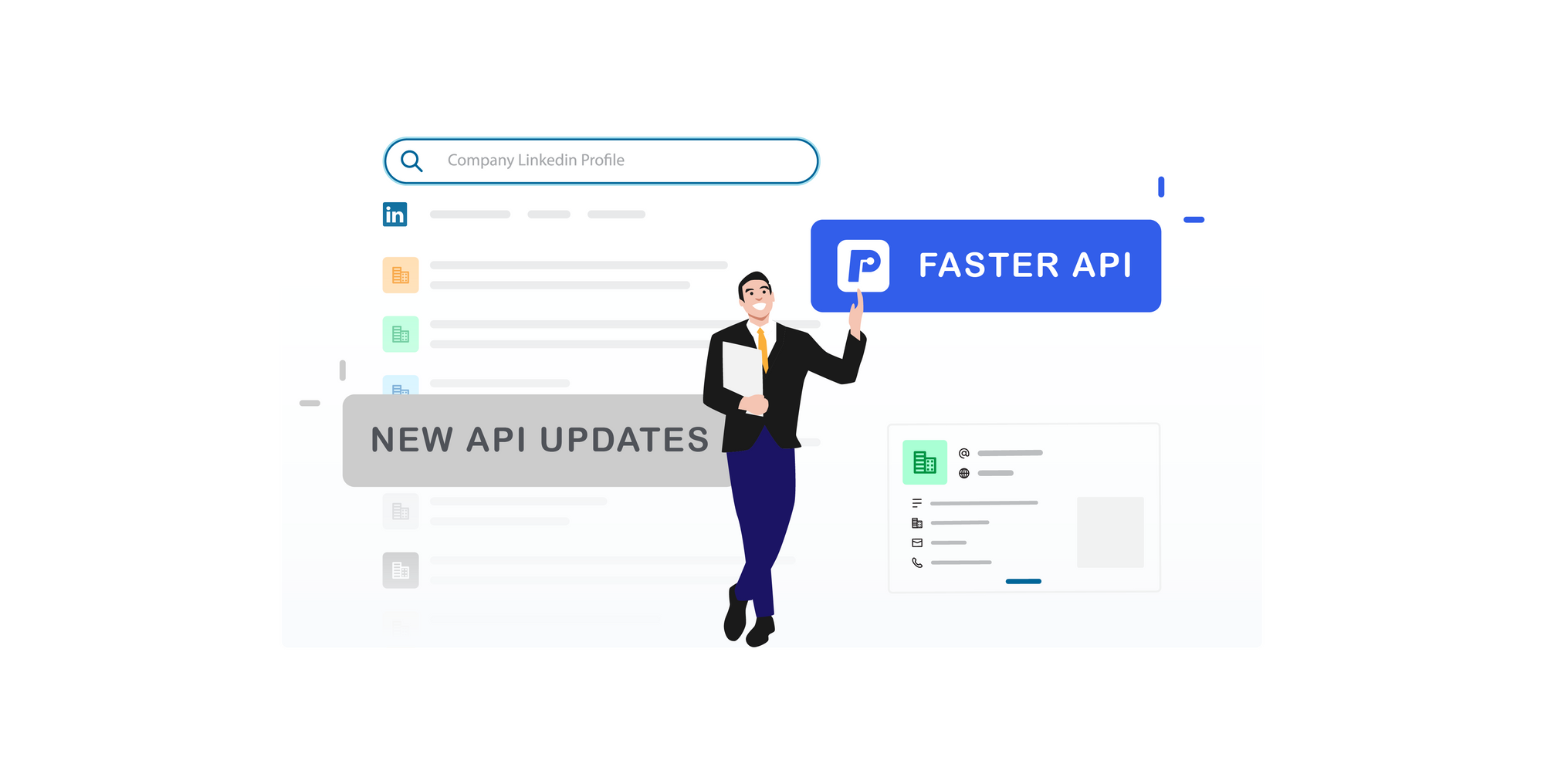 Our Linkedin Company Profile API Endpoint just got faster and better
