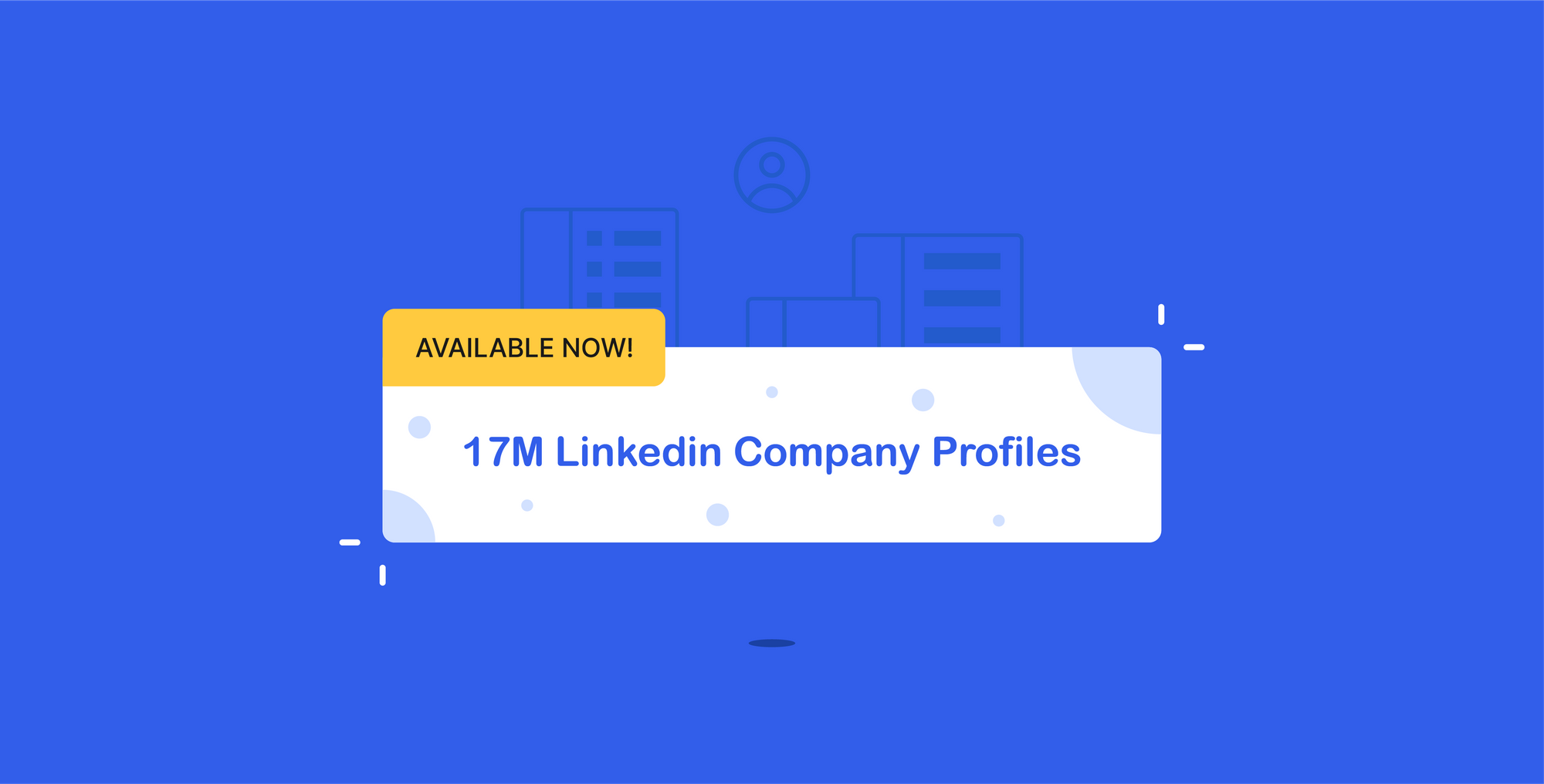 Available now: 17M Linkedin Company Profiles in LinkDB