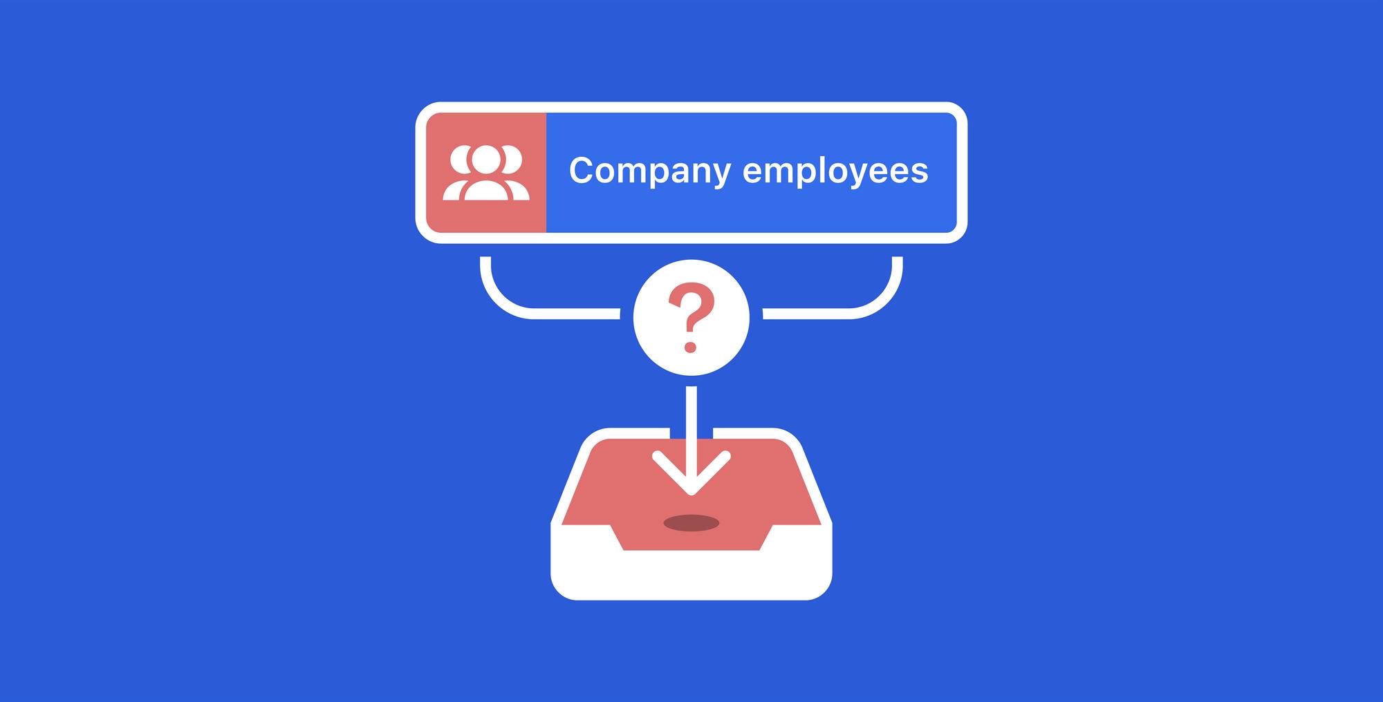 How can I retrieve a list of all employees within a company through the LinkedIn API?
