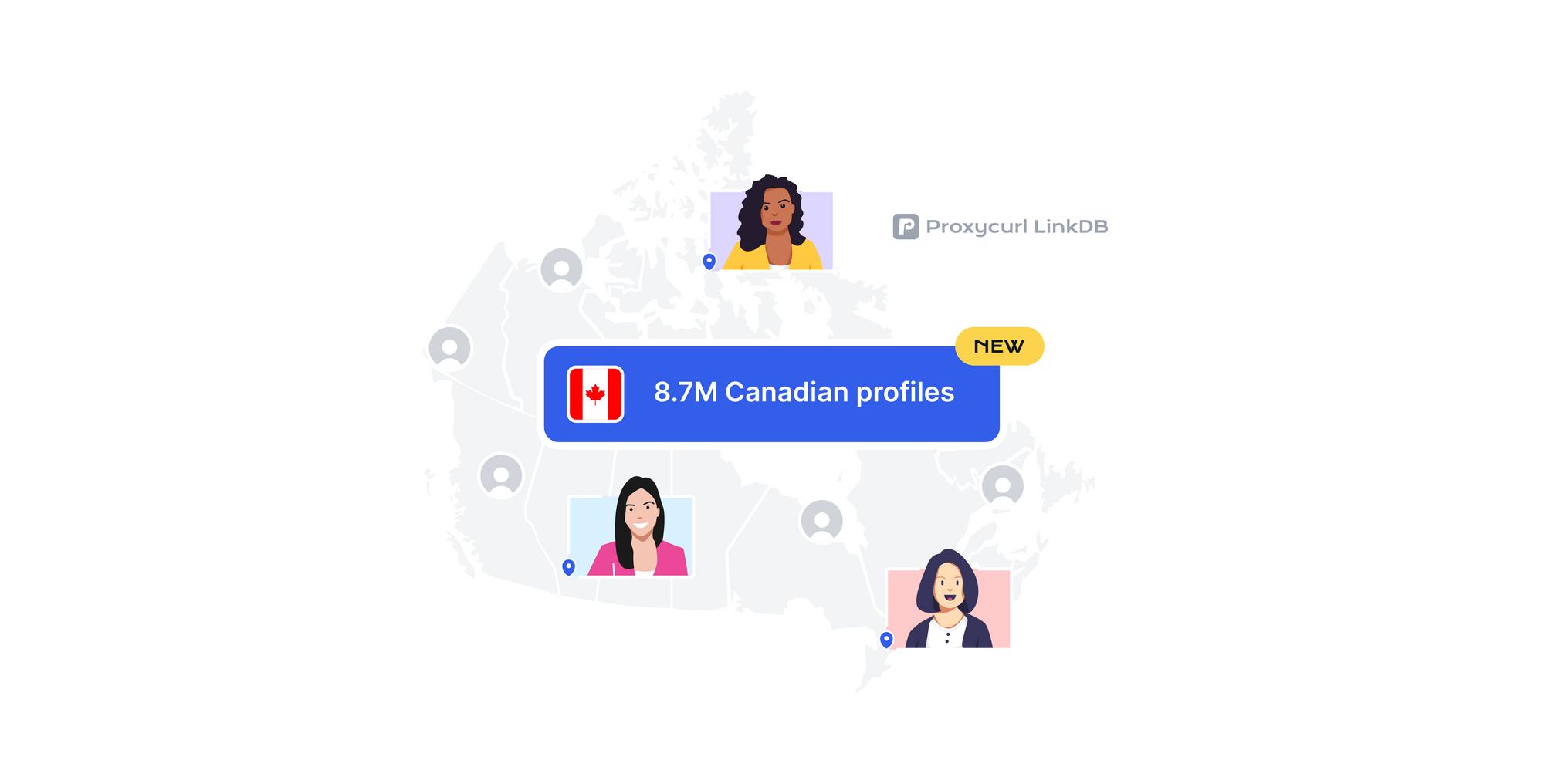8.7M Canadian profiles added to LinkDB