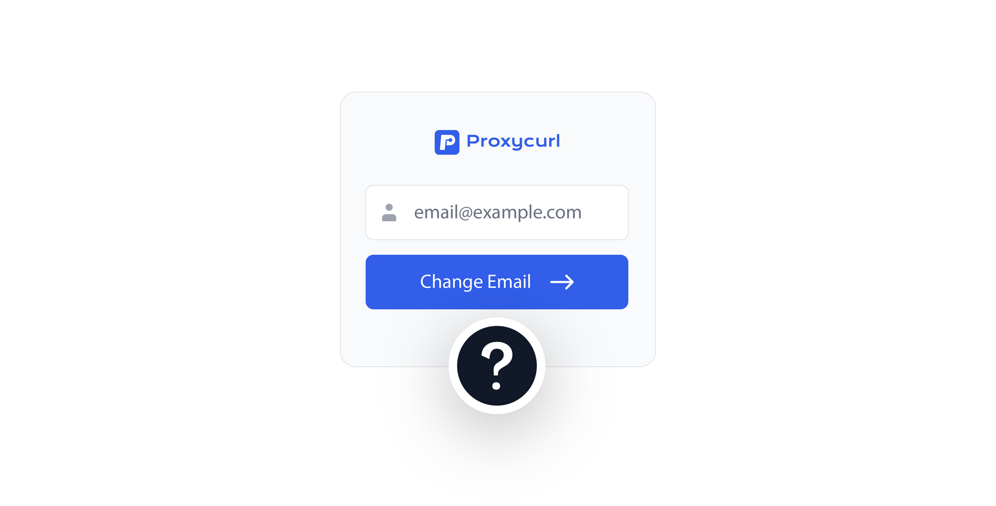 How to change your login email address in Proxycurl?